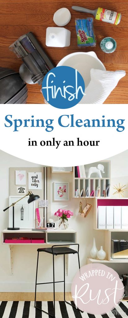 Finish Spring Cleaning in Only an Hour | Spring Cleaning, Spring Cleaning Checklist, Spring Cleaning Tips, Spring Cleaning Hacks, Spring Cleaning Quotes