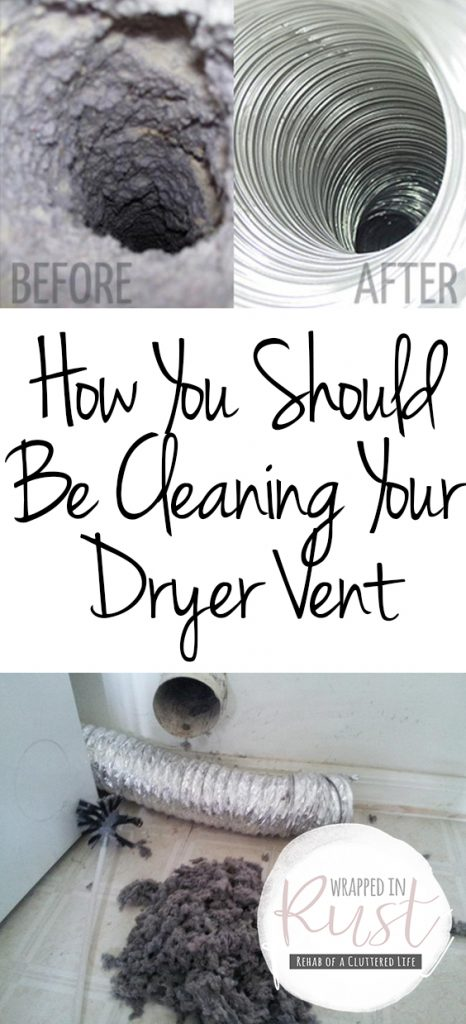 How You Should Be Cleaning Your Dryer Vent| Cleaning Hacks, Cleaning, Cleaning TIps, Cleaning Dryer Vent, Dryer Vent, Dryer Vent Solutions
