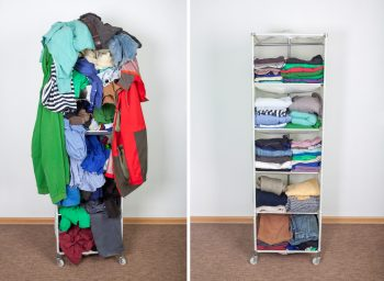 organization chart-how does clutter make you feel
