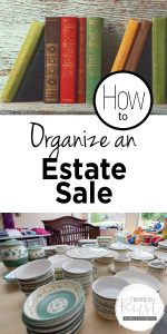 Estate Sale | How to Organize an Estate Sale | Organize an Estate Sale | DIY Organize an Estate Sale | Estate Sale Tips and Tricks