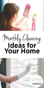 Monthly Cleaning Ideas | Monthly Home Cleaning Ideas | Home Cleaning Ideas | Cleaining | Cleaning Ideas | Clean Home | Tips and Tricks for a Clean Home