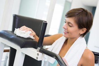 sanitize your exercise equipment | ways to keep your exercise equipment sanitized | cleaning | exercise | sanitize