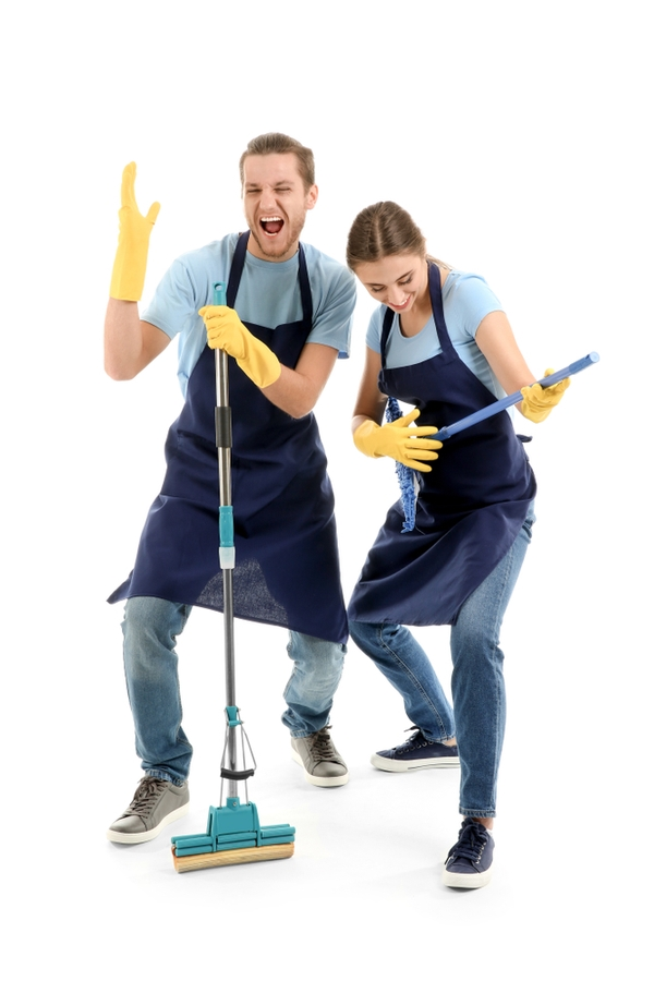Cleaning Personalities