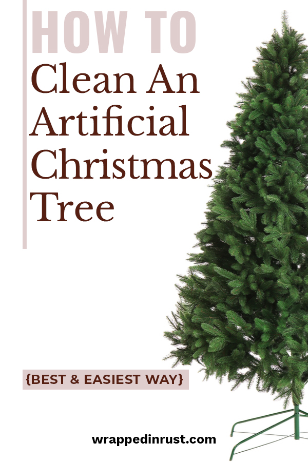 I'm a big fan of artificial Christmas trees until I pull them out of storage and they are covered in dust. Makes me want to sneeze just thinking about it. But, not to worry. I have the best way to clean an artificial Christmas tree. These tips make your tree dust free and ready to be decorated for the holiday. If you want to clean your tree, but have no idea how to do it, keep reading. Then get the tree up. #howtocleananartificialchristmastree #artificialchristmastreetips