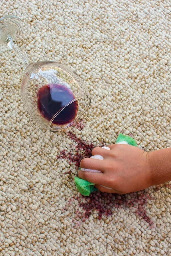 If you drink red wine, you know how terrible it is when it spills on your carpet. Here are the best tips for cleaning up red wine stains from your carpet.