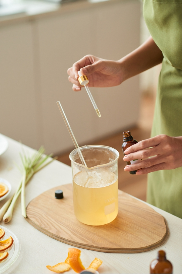Do you know all of the household uses for essential oils? You can make a homemade hand sanitizer that is safe for everyone to use.