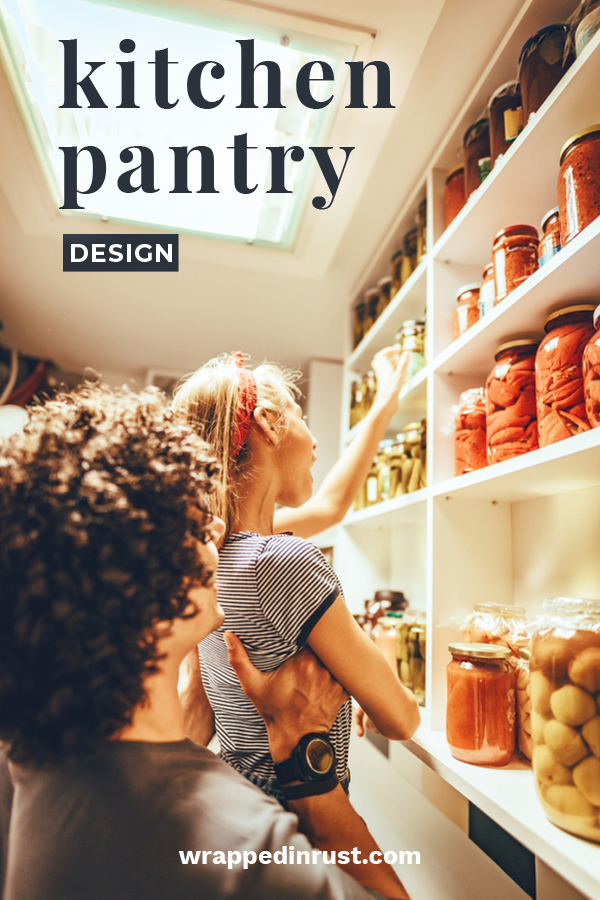 A pantry is awesome if it is designed well. This post is all about kitchen pantry designs for small pantries, walk in pantries, corner pantries and more. Make the most of your pantry and the storage space with these kitchen pantry design tips. #kitchenpantrydesign #pantrytips #homedesign