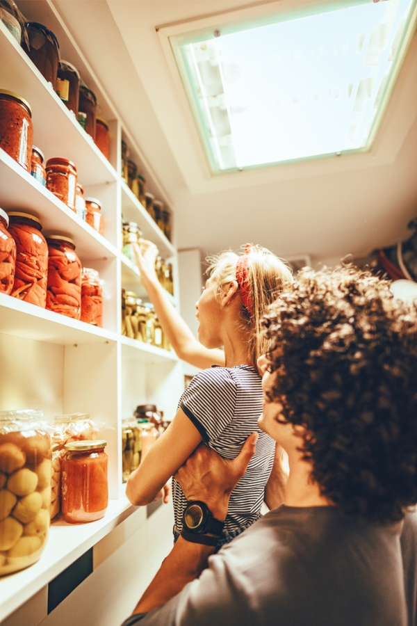 You may have a kitchen pantry design that is walk-in. Or your pantry space may be a wall of kitchen cabinets. If you're really lucky you may even have a butler's pantry. Whatever you've got, to get the most out of the space you need the best kitchen pantry design ideas out there. Make sure your pantry has plenty of light, it will help you stay so organized.