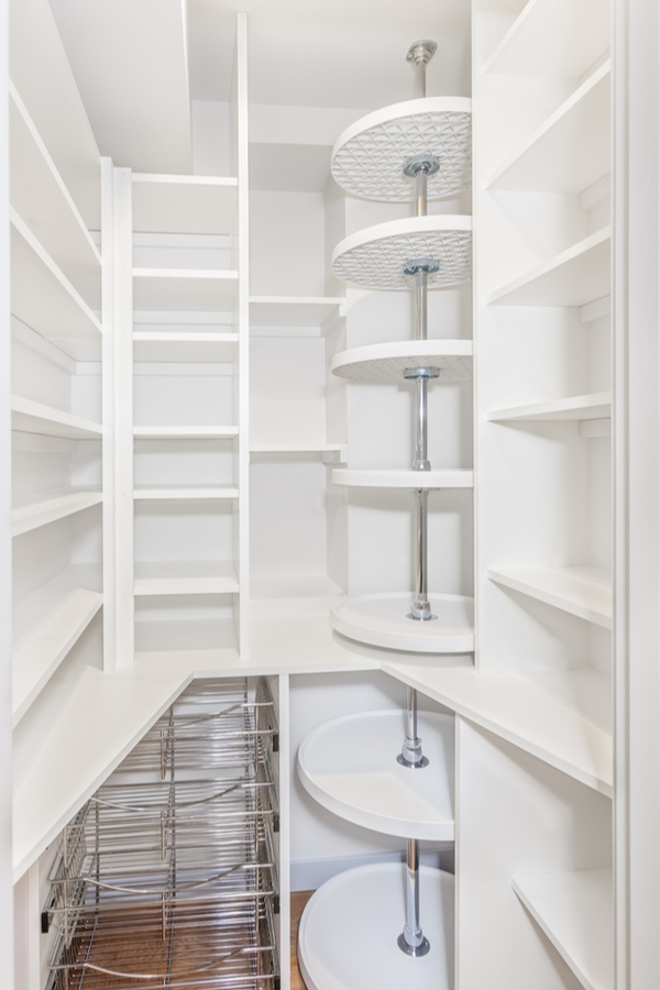 You may have a kitchen pantry design that is walk-in. Or your pantry space may be a wall of kitchen cabinets. If you're really lucky you may even have a butler's pantry. Whatever you've got, to get the most out of the space you need the best kitchen pantry design ideas out there. Make sure you plan out your pantry design to make the most of it!