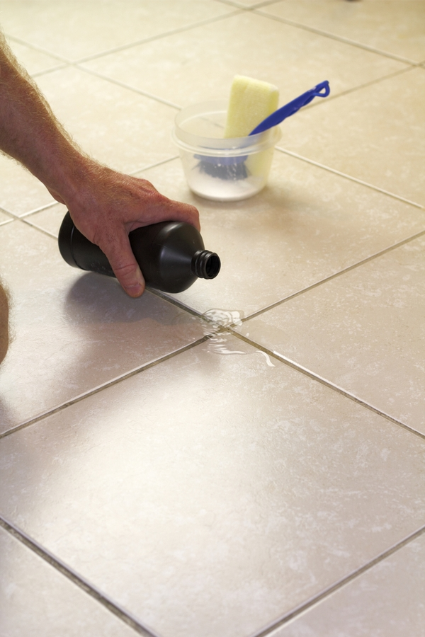 You need this recipe for a homemade miracle cleaner. You can use this miracle cleaner in most any room of your home, with real results. You'll be amazed at how well it cleans your grout.