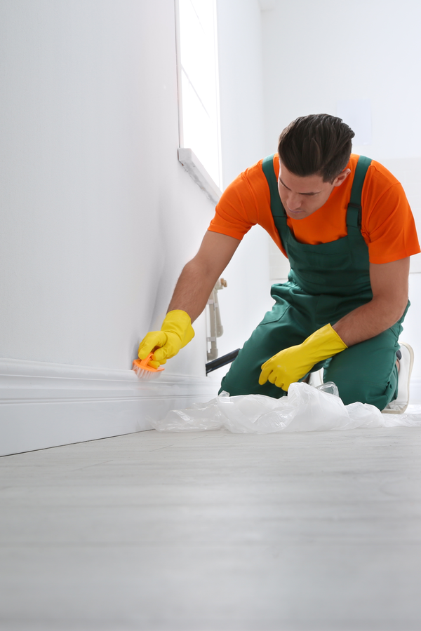 Baseboard cleaning hacks may not be at the top of your list, but that's probably because cleaning baseboards probably isn't either! So let's talk baseboard cleaning hacks to make that job as easy as possible. You will love how clean your home feels after!