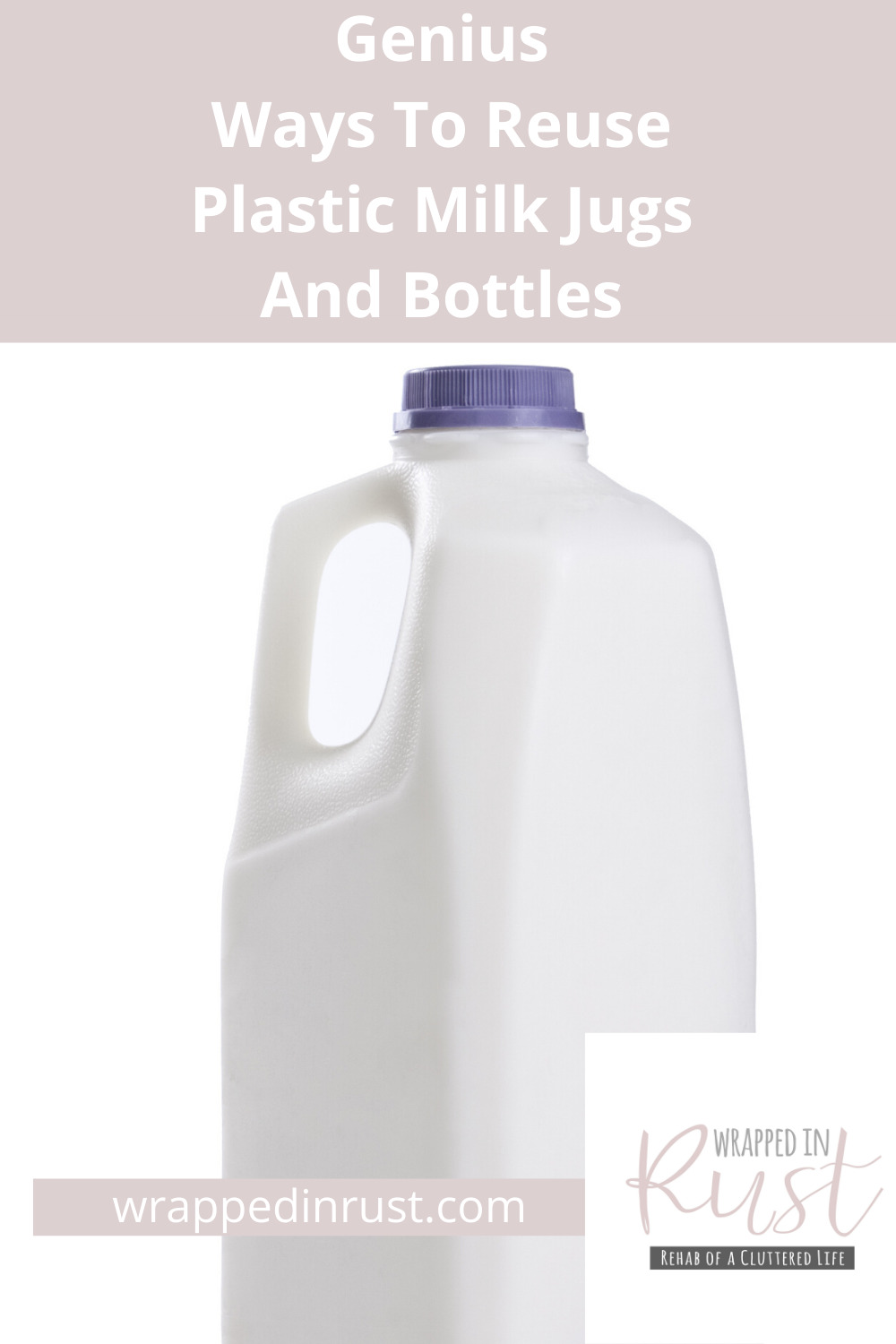 People who are smart, are also resourceful. They do not waste much, especially plastic. Why not try one of these 18 ways to reuse plastic milk jugs and bottles. And, save money while you do it. #frugalliving #upcycle #reuseplasticmilkjugs