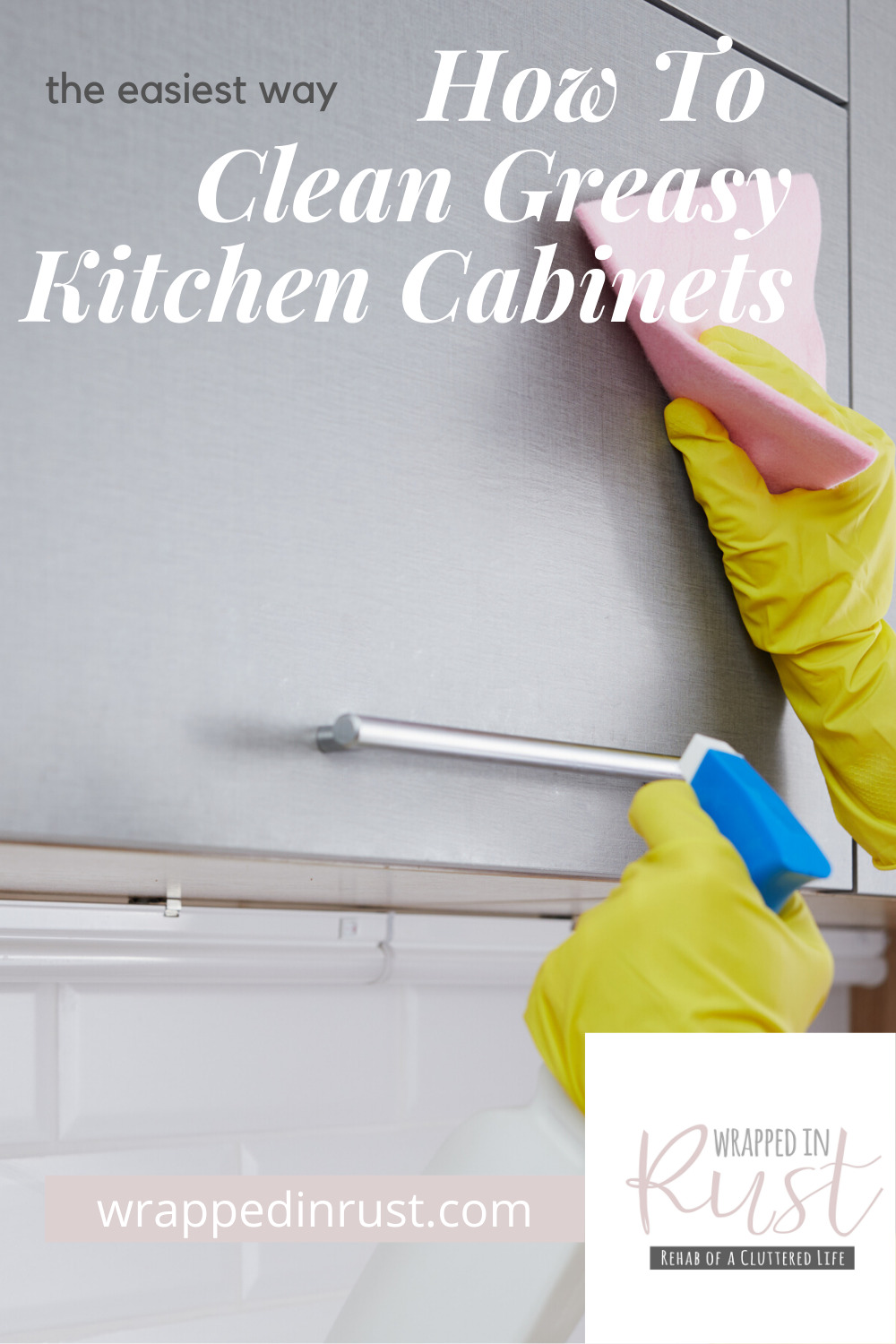 Life doesn't come with an instruction manual. But cleaning greasy cabinets does!  I have some great tips for how to clean your greasy cabinets that will leave them looking fresh and new. And the best part? You can do it with homemade cleaners made from household products. So, clean on! #cleaningcabinets101 #cleaningtips