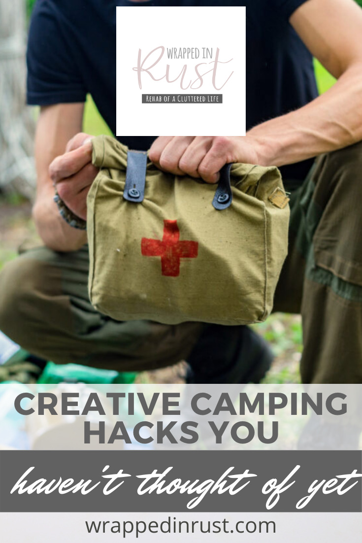 Wrappedinrust.com is the place to go for ideas to make life less messy. Make camping with your family run more smoothly with these genius hacks!