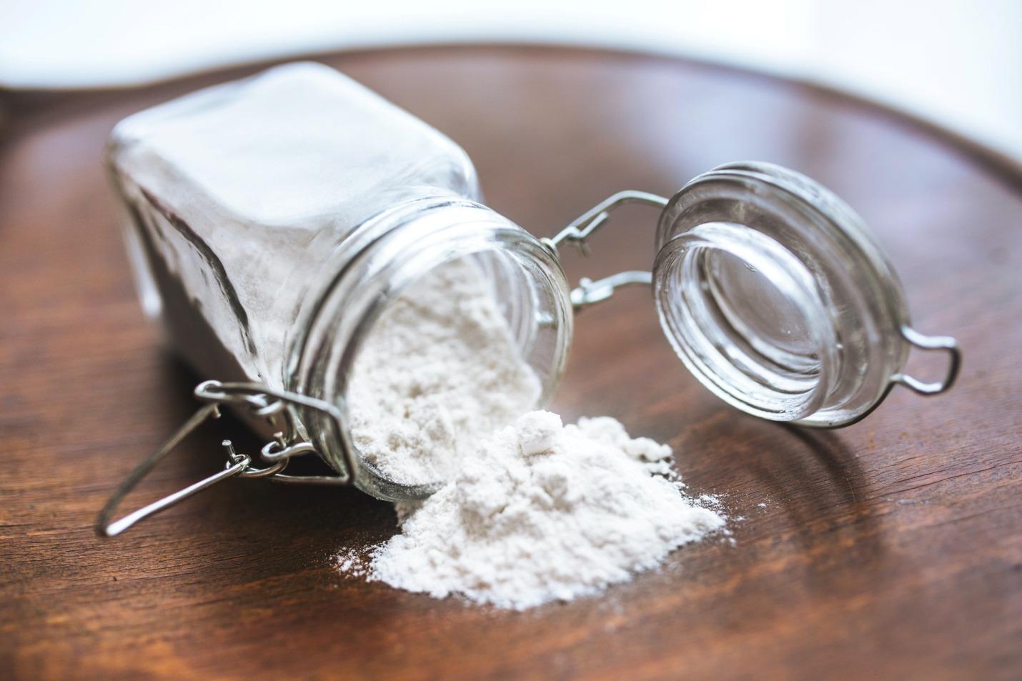 Baking soda in homemade dishwasher pods