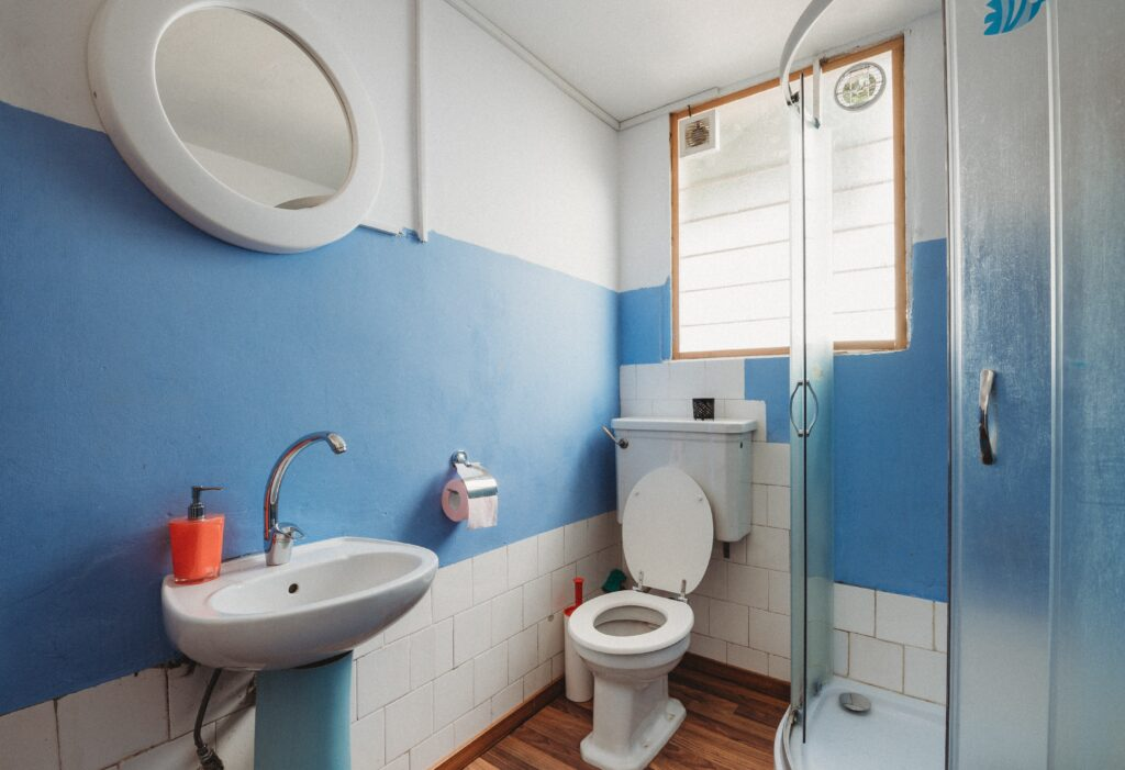 Stop the buildup of toilet bowl stains