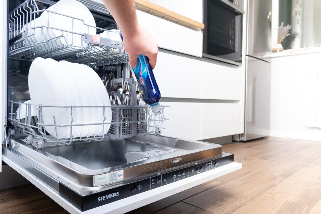 a clean dishwasher