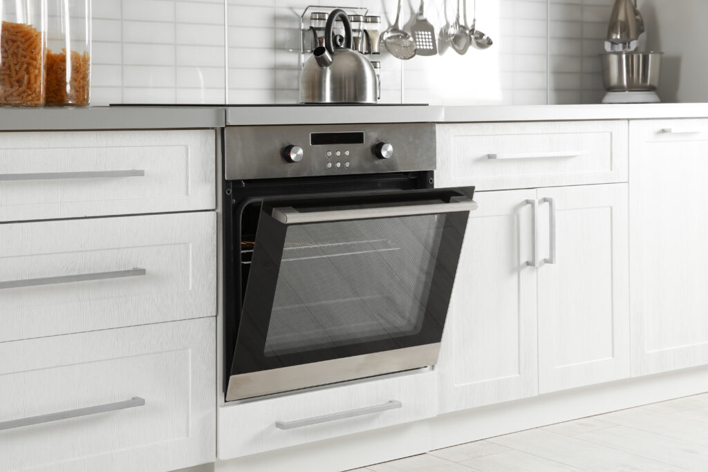 Clean the oven while you sleep - clean fast