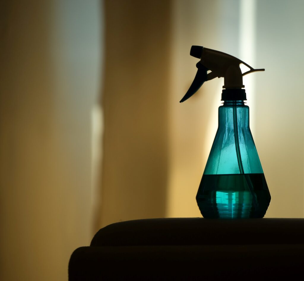 Bug killing with peppermint oil