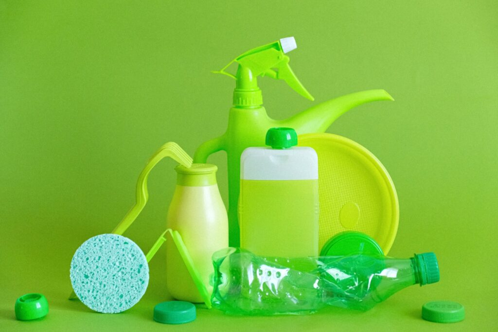 Using natural means to make a DIY disinfectant spray